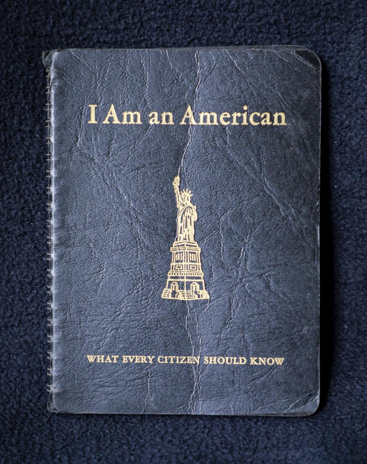 book - I am an American